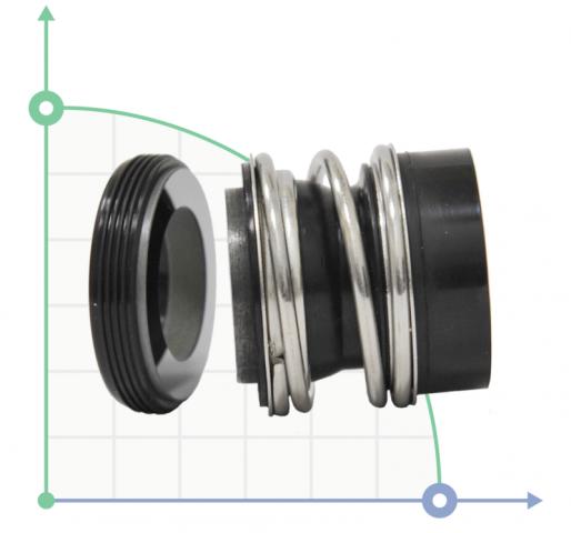 Торцевое уплотнение (сальник) для насоса KSB R-MG12-28/G60