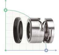 Механическое уплотнение (сальник) R-128P-30 TC/TC/EPDM/304