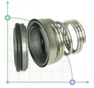 Механическое уплотнение (сальник) TS155-30 CA/SIC/VITON/304