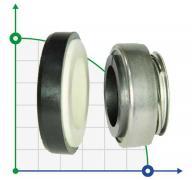Механическое уплотнение (сальник) ZY301-20M CAR/CER/NBR