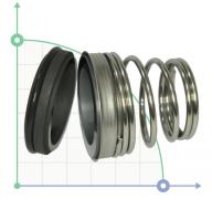 Механическое уплотнение (сальник) ZY155-16 CAR/CER/EPDM/304