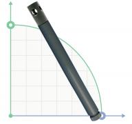 Держатель электродов трубчатый 1,5м