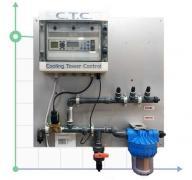 Система CTC PANEL дозирования и контроля уровня биоцида и ингибитора для башенных охладителей